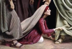woman healed