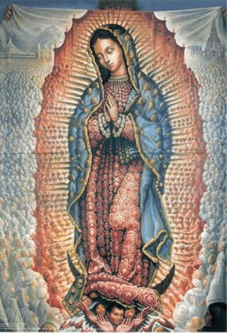 our lady of guadelupe by octavio ocampo