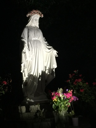 Mary in the dark