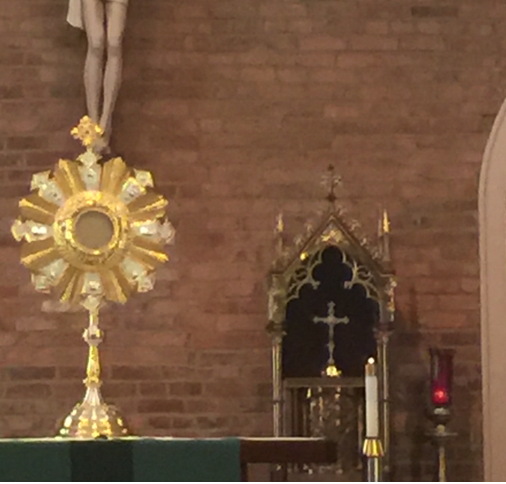 Tabernacle Monstrance Sanctuary Lamp