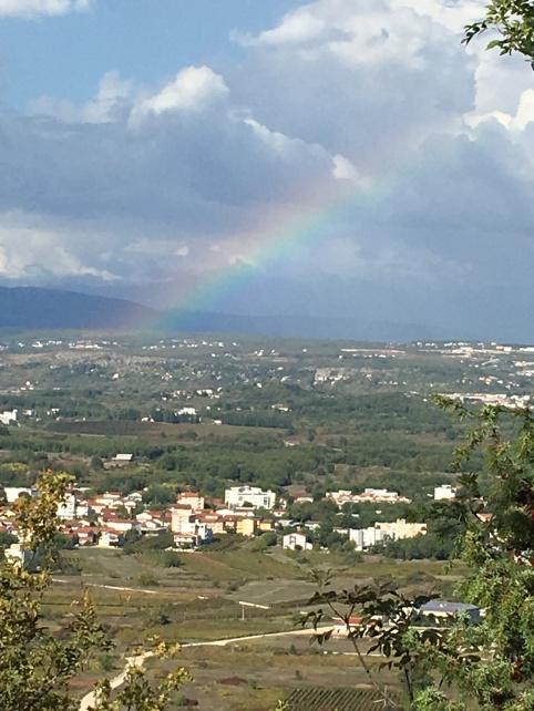 rainbow cross mountain