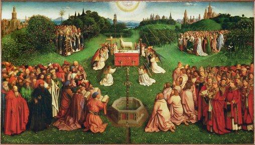 ghent altar piece
