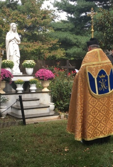 Fr D with Mary