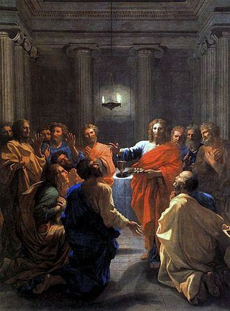 330px-Nicolas_Poussin_-_The_Institution_of_the_Eucharist_-_WGA18310