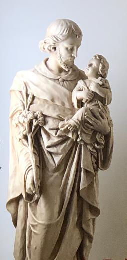 Joseph in adoration